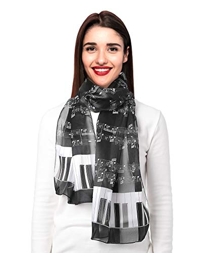 CBC Crown Women's Fashion Music Note Scarf (Various...