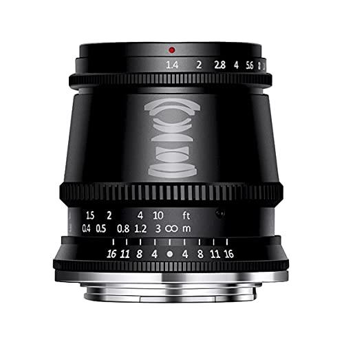 【国内正規品】銘匠光学 TTArtisan 17mm f/1.4 C ASPH (富士フイルムX, ブラック(通販モデル))「2年保証付」