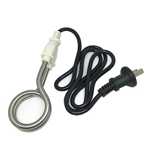 Tosmisy 220V 600W 携帯湯沸かし器 トラベルコイルヒーター 携帯湯沸し棒 湯沸しヒーター 海外旅行用 (001)