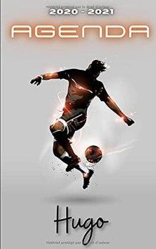 Agenda 2020 2021 Hugo: Agenda Scolaire Foot Personnalisable ⚽ Cadeau pour HUGO ⚽ Prénom Agenda personnalisé   Journalier   Football   Garçon Ado   Collège Primaire Lycée Étudiant