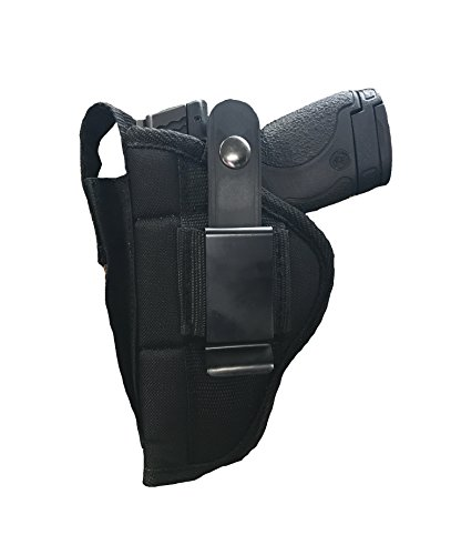 Nylon Belt or Clip on Gun Holster Fits Glock 24,34,35,41