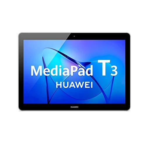 "Huawei Mediapad T3 10 - Tablet de 9.6"" HD (WiFi, RAM de 2GB, ROM de 32G, Android 8.0, EMUI 8.0), Color Gris"