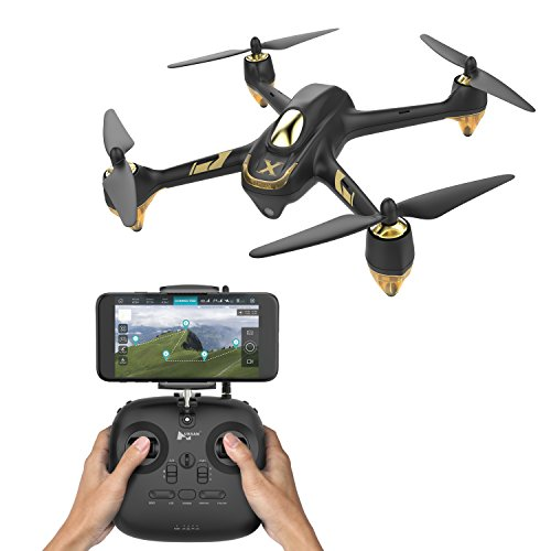 Hubsan- X4 Air PRO Droni Quadricotteri GPS Fotocamera 1080P App (H501A+HT011A), Colore