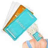 Dynamik Products - Pack de 2 bolsas de gel - Para tratamiento de compresión con frío y calor en...