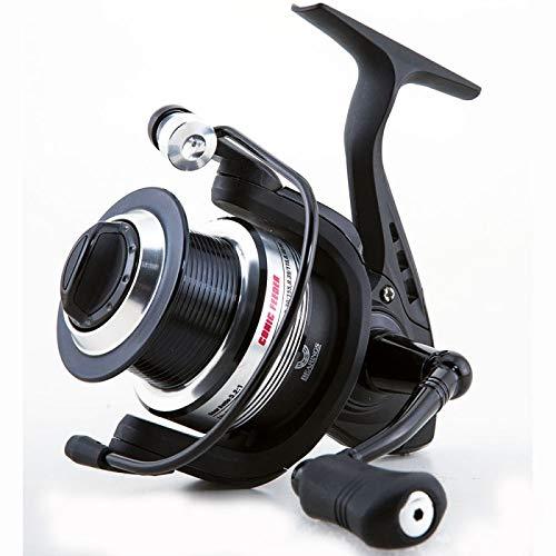 Lineaeffe Mulinello da Pesca TS Conic Feeder 4000 con Frizione Anteriore Precisa e Potente da Spinning Bolognese Feeder Fondo Mare Trota Lago Leggero e Affidabile