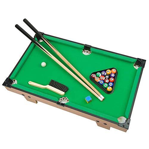 Portzon Mini Pool Table, Premium Tabletop Billiards Mini Snooker Game Set - Balls, Cues, and Rack Pool, Sport Bank...