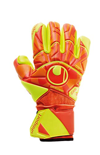 PROFESSIONAL GOALKEEPER GLOVE UHLSPORT DYNAMIC IMPULSE ABSOLUTGIP FINGER SURR.