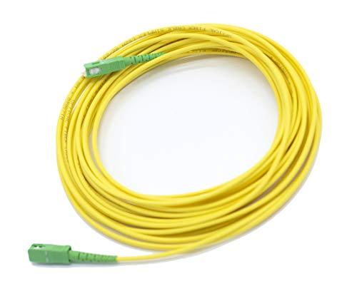 PRENDELUZ Cable Fibra ÓPTICA 10 Metros Universal - Color Am