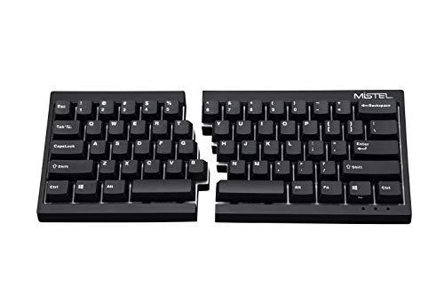 Mistel Barocco Ergonomic Split PBT Mechanical Keyboard with Cherry MX...