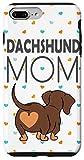 iPhone 7 Plus/8 Plus Dachshund Butt Heart Weiner Dog Case Mom Gift Girl Case
