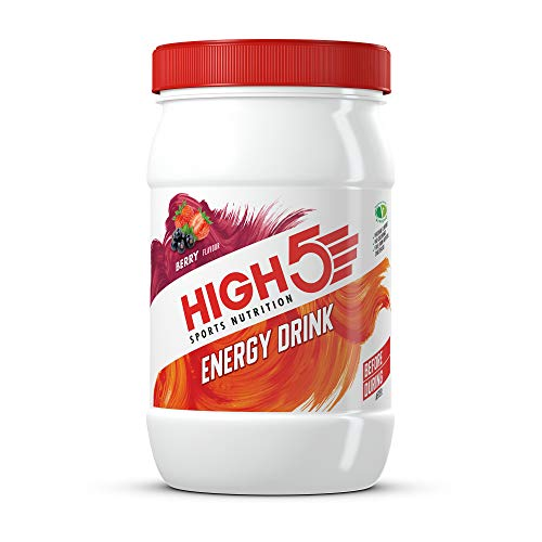 HIGH5 Energy Hydration Drink Refreshing Mix of Carbohydrates and Electrolytes Vegan Friendly (Berry, 1kg)