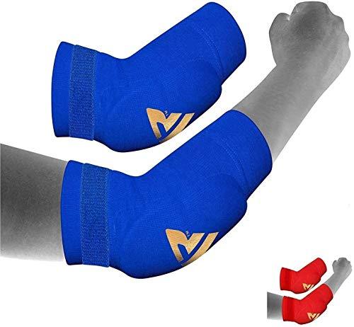 RDX Boxe Supporto Gomito Tutore MMA Gomitiere Pallavolo Elastica Avambraccio Protezione Fascia Epicondilite