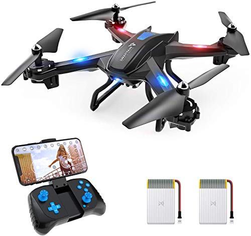 SNAPTAIN S5C Drone con Cámara 1080P HD, Dron WiFi FPV por Control...