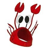 Tinksky Party Cap Costume réglable Fancy Hat Restaurant de fruits de mer Casquette de homard pour enfant ou adulte