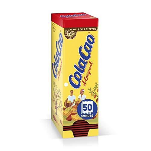 Cola Cao Original: Con Cacao Natural - 50 Sobres De 18G