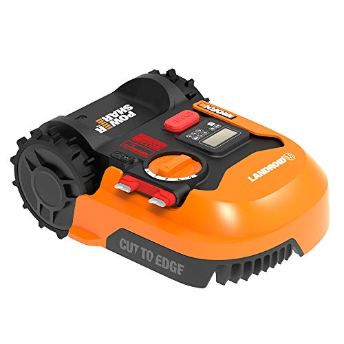 Worx WR140 Landroid M 20V Power Share Robotic Lawn Mower,Orange