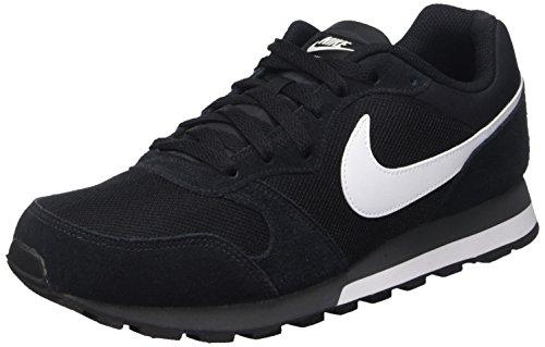 Nike MD Runner 2, Zapatillas Hombre, Black/White Anthracite, 43 EU