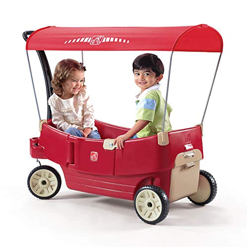 Step2 All Around Canopy Wagon, Red