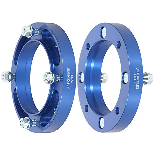 SCITOO 2X 4 Lugs Wheel Spacers 1' 4x156mm to 4x156mm 131mm CB fit for 2001-2003 for Kawasaki Lakota 300 KEF300B Sport 3/8' x24 Studs