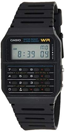 Casio Men's Vintage CA53W-1 Calculator Watch