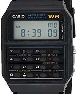 Casio Men's Vintage CA53W-1 Calculator Watch 33