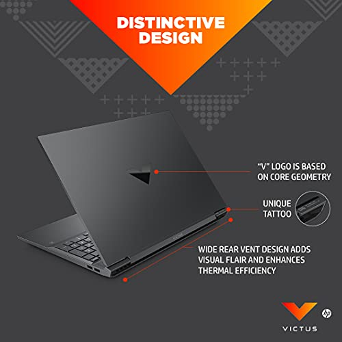 Victus by HP Ryzen 5 5600H 16.1-inch(40.9 cm) FHD Gaming Laptop computer (8GB RAM/512GB SSD/4GB RTX 3050 Graphics/Flicker Free Show/Home windows 10/MS Workplace/Mica Silver/2.48 Kg), 16-e0076AX