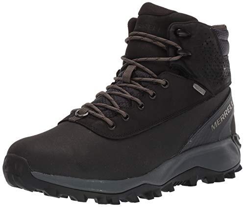 Merrell Men's Thermo Kiruna MID Shell WP Boot, Black, 10.5 M US