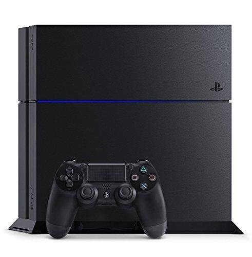 PlayStation 4 ジェット・ブラック 1TB (CUH-1200BB01)【Amazon.co.jp限定特典】アンサー PS4用縦置きスタンド付
