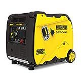 Champion Power Equipment 200988 4500-Watt Dual Fuel RV Ready Portable Inverter Generator, Electric Start