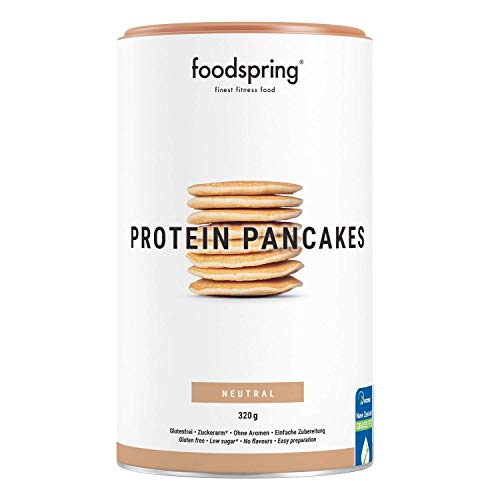 foodspring Tortitas Proteicas, 320g, Mezcla para cocinar, ba