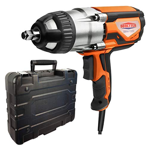 Dobetter Electric Impact Wrench 1/2 Inch Corded Impact...