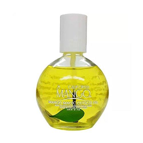 California Mango Mango Magic Cuticle Oil 2.5 Fl Oz/ 74 Ml, 2.5 Oz