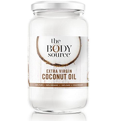 The Body Source Bio Kokosöl 1000ml (1L) - Premium...