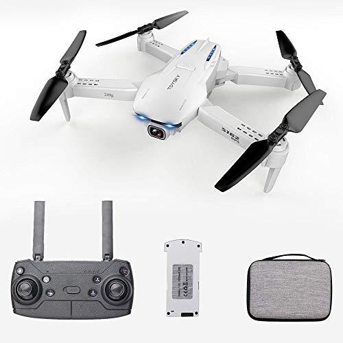 Goolsky Drone S162 RC con Telecamera GPS Regolabile grandangolare 1080P WiFi Gesto Foto Video MV FPV RC Quadcopter Follow up Drone per Adulti