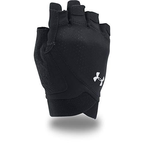 Under Armour, Cs Flux Training Glove, Guanto, Donna, Nero (Nero/Nero/Argento), XL