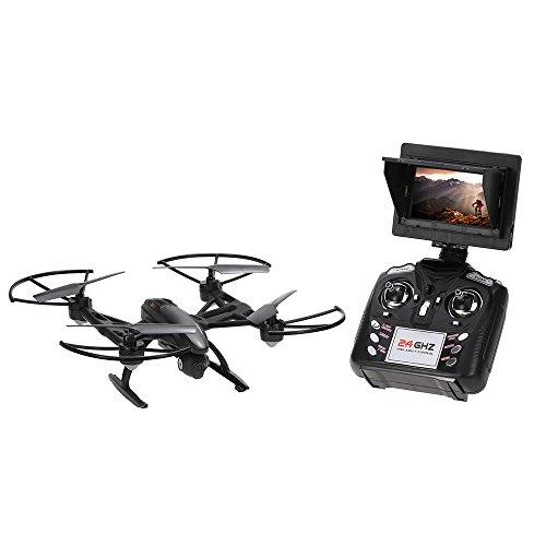 Goolsky JXD 509G RC Quadricottero 2.4G 4CH 6-Axis Gyro 5.8G FPV con bloccaggio Incorporato RC Quadcopter con Fotocamera HD 2.0MP