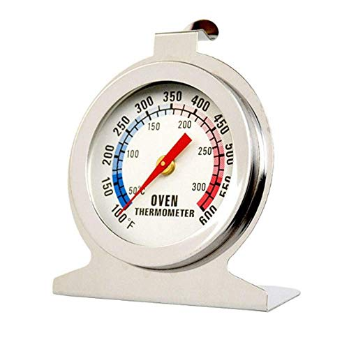 JSDOIN Oven Thermometer Classic Series Large Dial Thermometer (1PACK, Freezer-Refrigerator) (Oven)