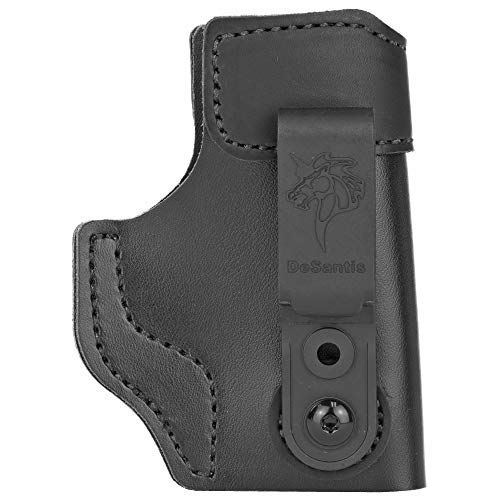 Gunhide, 179, Sof-Tuck 2.0 Inside Waistband Holster, Fits Sig P365, Right Hand, Black Suede Leather