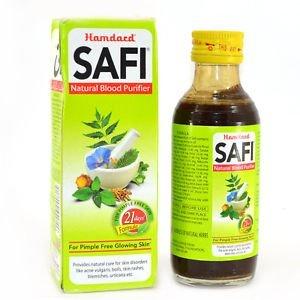 Hamdard Safi Syrup For Pimple Free Skin, Green, 200 ml