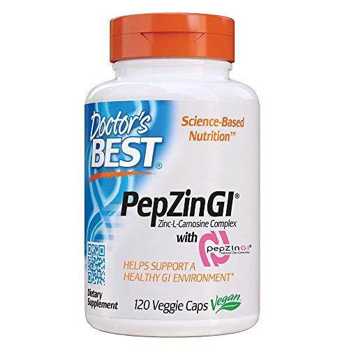 Doctor'S Best Pepzine GI Zinc-L-Carnosina Complejo Multivita