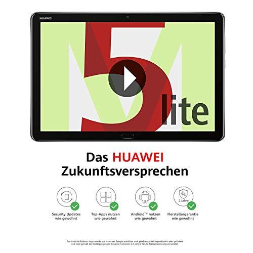Huawei MediaPad M5 Lite | Scherm van 25,6 cm (10,1 inch) | Full HD | Kirin 659 | 3 GB RAM | 32 GB opslagcapaciteit | Android 8.0 EMUI 8.0