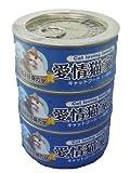 猫缶 愛情猫家族 かつお白身のせ 170gx3缶パック