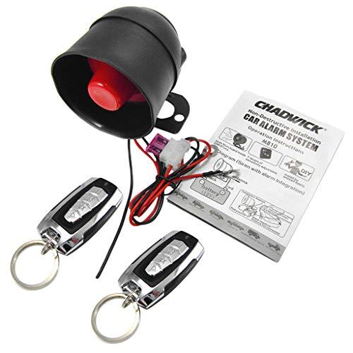 perfk Auto Alarmanlage Sicherheitssystem 2 Wege Auto Alarmanlage System