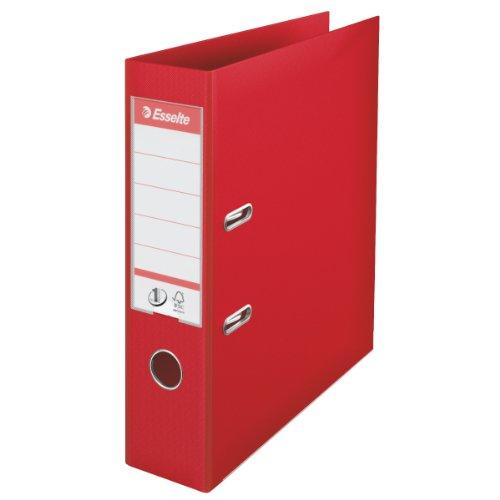 Leitz 811330 - Classificatore, Rosso, 1 pezzo