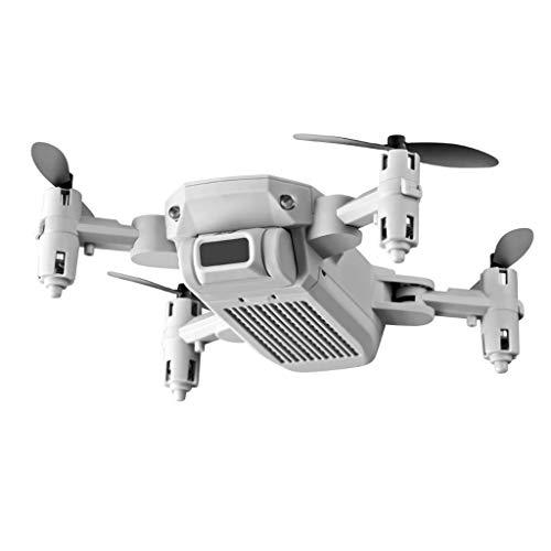 perfeclan Multi-Funzione 4K HD Camera Drone 2.4GHZ Altitude Hold RC per Principianti Adulti - Bianco