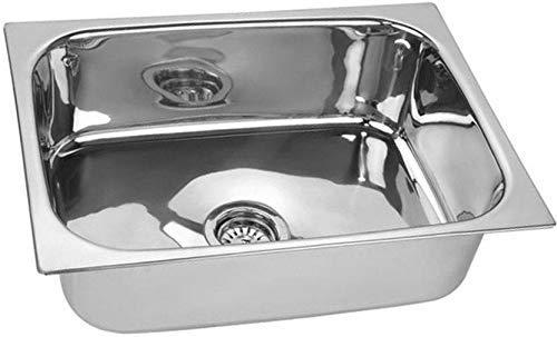 10x Kitchen Sink, Silver, Brushed Finish