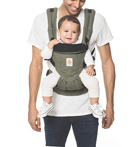 Canguru All-In-One, Ergobaby, Verde / Azul