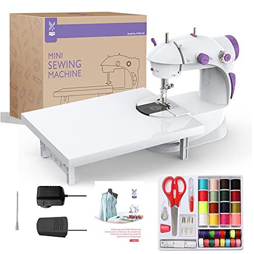 KPCB Macchina da cucire con kit da cucito (Purple)