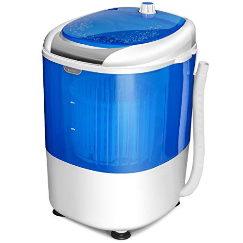COSTWAY Mini Washing Machine, Portable Washer for Compact...