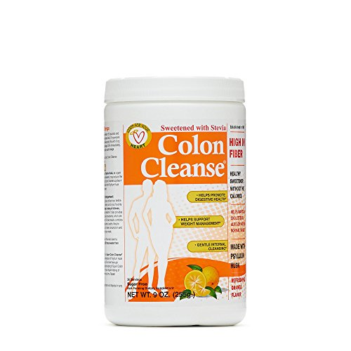 Health Plus Orange Flavour Colon Cleanse with Stevia, 9 Ounce - 1 each.